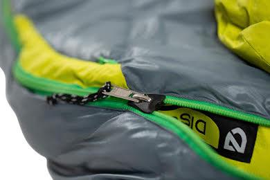 NEMO Disco 30 Men's Sleeping Bag - 650 Fill Power Down with Nikwax, Regular, Spark/Fortress alternate image 2