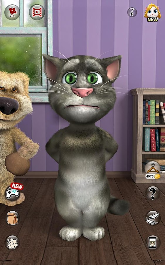 how to play talking tom