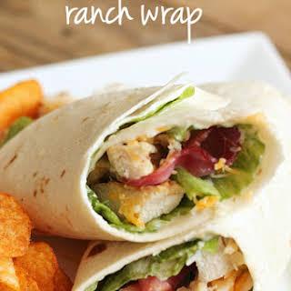 Chicken Bacon Ranch Wrap.