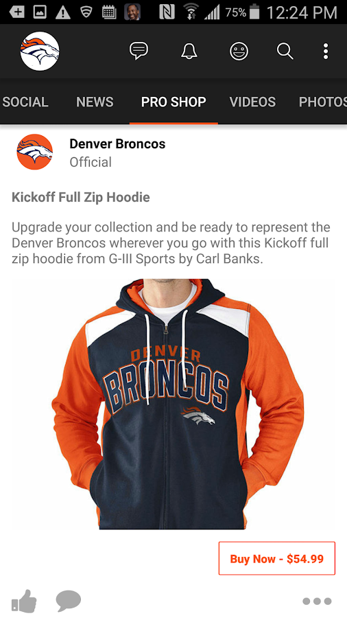Denver Broncos Orange Herd- screenshot