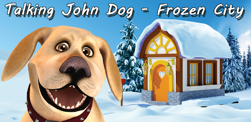 Talking John Dog Frozen City - Apps on Google Play