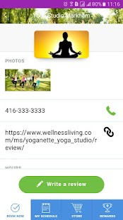 WellnessLiving Achieve- screenshot thumbnail