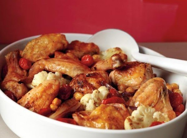 Chicken & Cauliflower Roast Recipe