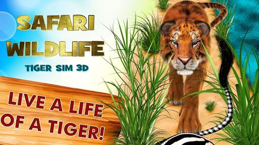 Safari Wildlife: Tiger Sim 3D
