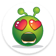 Cute Zoe WAStickerApps Alien Emoji (WAstickerapps)