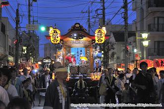 Photo: 【平成24年(2012) 宵宮】  大盛況の上溝商店街を進む。