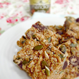 Salted Almond Butter Flapjacks