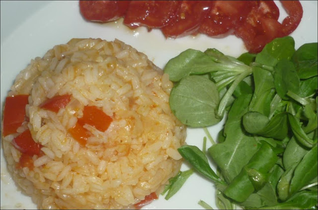 Tomato and Pepper Rice Recipe