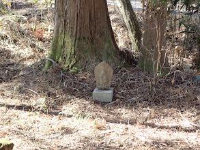 樫の木峠の石仏