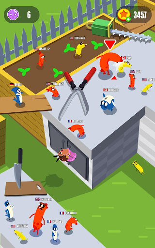 Sausage Wars.io 1.4.6 screenshots 3