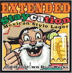 Extended Staycation Mexican Style Lager with Lime!