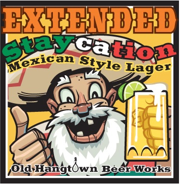 Logo of Extended Staycation Mexican Style Lager with Lime!