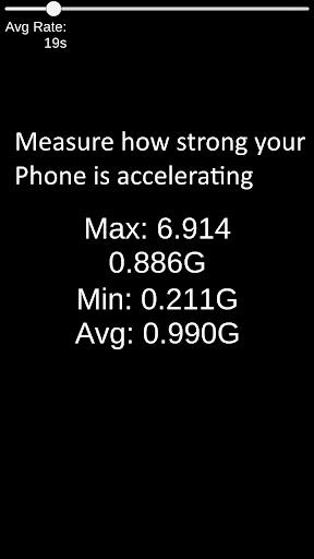 Simple G Meter