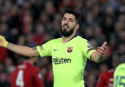'Luis Suarez laat contract bij FC Barcelona ontbinden en heeft akkoord bij Spaanse concurrent'