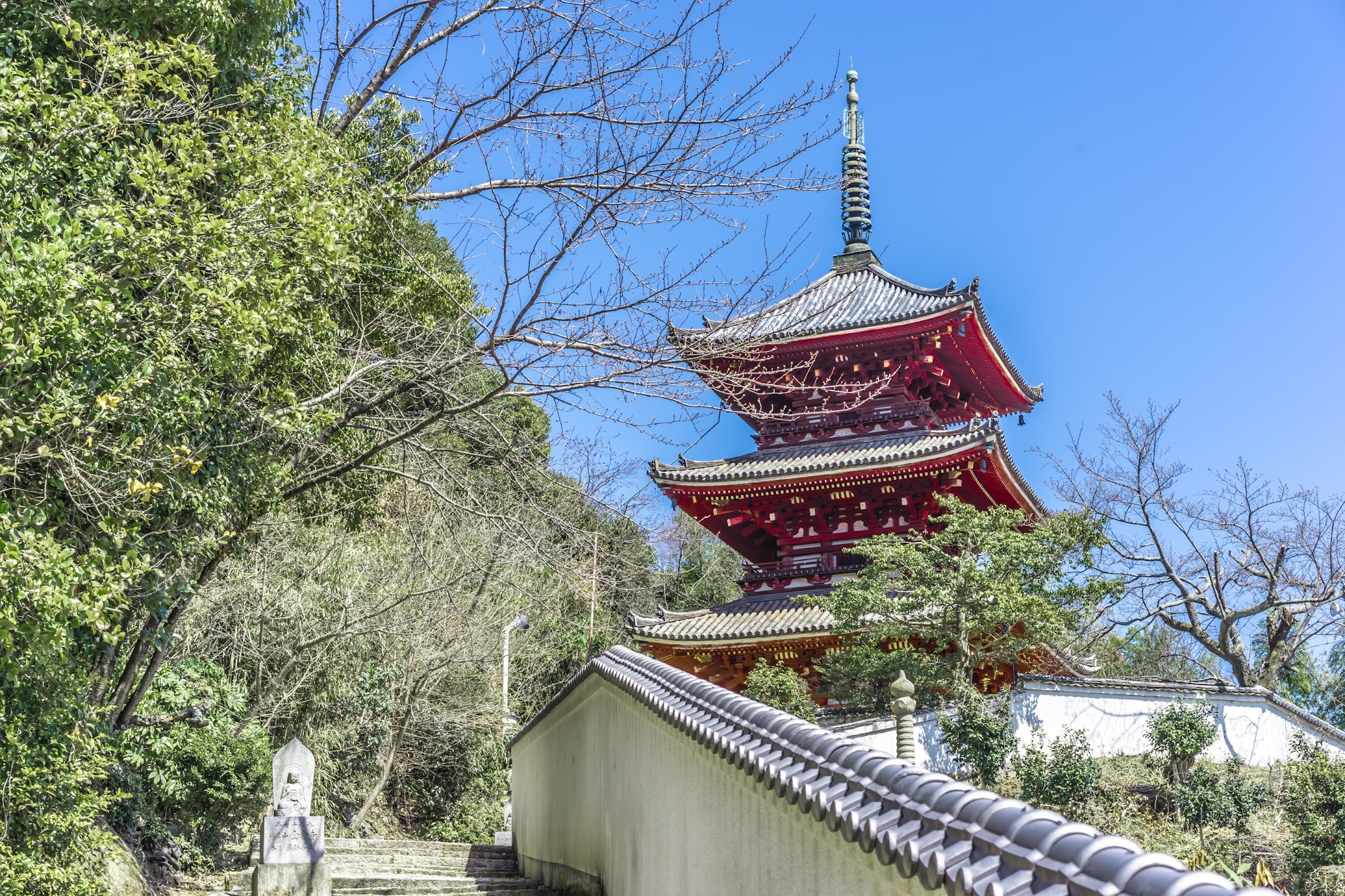 onomichi Saionji Temple three-storied pagoda2