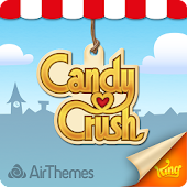 Tema Android de Candy Crush