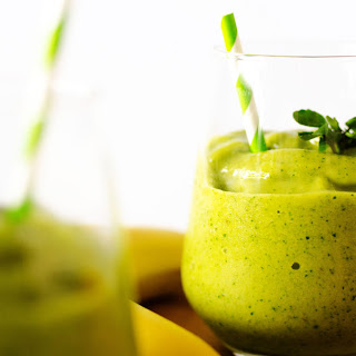 Tropical Watercress Smoothie.