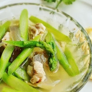 Cooking Chicken Asparagus Soup