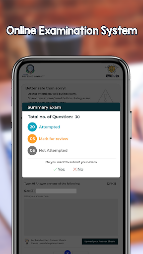 U18 eVeritas Exams screenshot 6