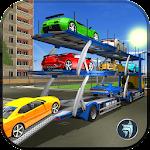 Multi Truck Car Transporter Icon