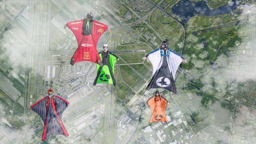 Wingsuit Simulator 3D - Skydiving Game  gameplay | by HackJr.Pw 14