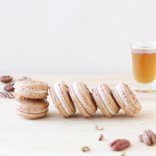 Maple and Pecan Macarons