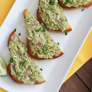 Tuna Avocado Tostadas
