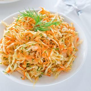 Skinny Cabbage Salad.