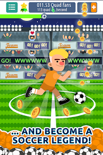 Legend Soccer Clicker - Be The Next Football Star! - náhled