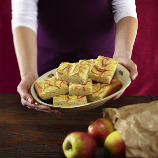 Apple Marzipan Bars.