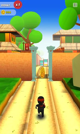 Ninja Runner 3D screenshot 1