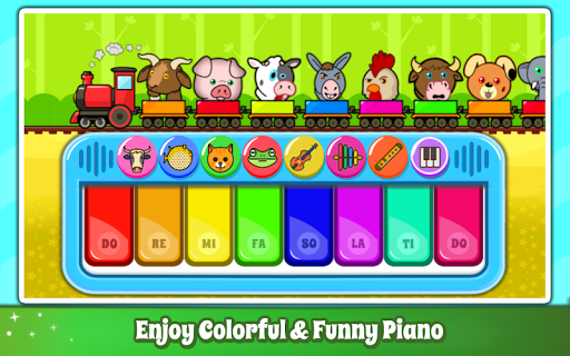 Baby Piano Games & Music for Kids & Toddlers Free 3.0 screenshots 2