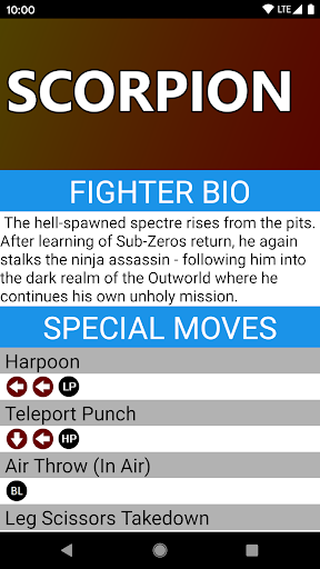 Foto do Fighter Bios: MK