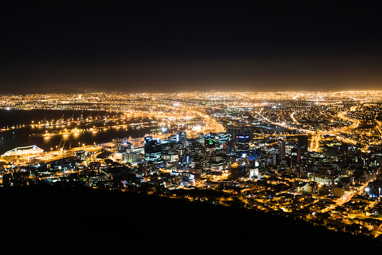 Cape Town skyline. File photo.