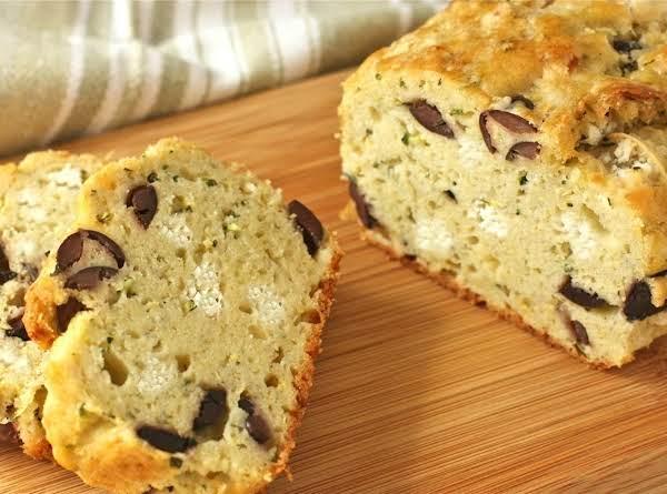 Cake Salé - Feta, Oregano & Olives Cake Recipe