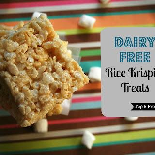 Dairy Free Rice Krispies Treat (Top 8 Free, Too!)