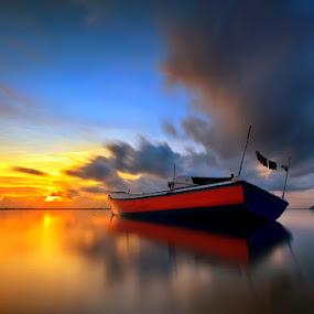 by Made Suwita - Transportation Boats