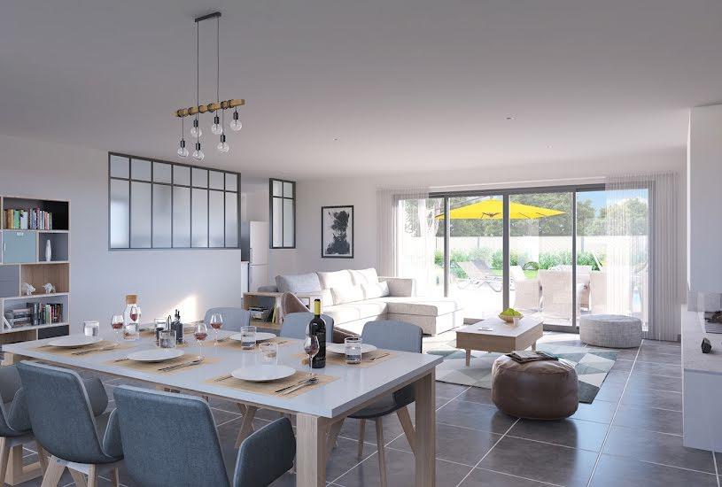 Vente Terrain + Maison - Terrain : 300m² - Maison : 147m² à Sainte-Pazanne (44680)