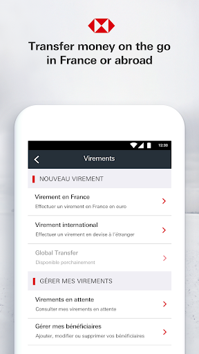HSBC France - screenshot