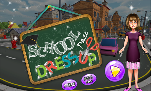 High School Days Dress Up Game