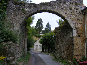 Photo: The Porte Badoul was once the gateway to the hilltop castle.