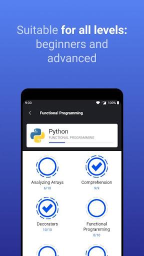 Enki: Learn data science, coding, tech skills 2.1.3 Screenshots 5