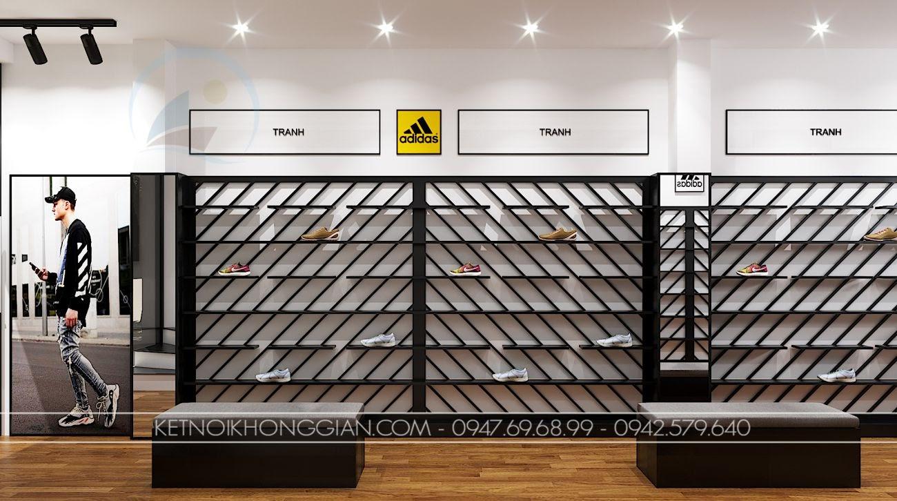 Thiết kế shop giày dép miền bắc