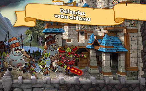 Hustle Castle: Jeux médiévaux dans le château astuce APK MOD capture d'écran 1