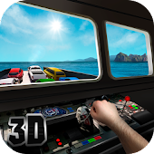 Cargo Ship Car Transporter 3D