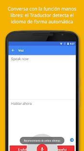 Google Traductor- screenshot thumbnail