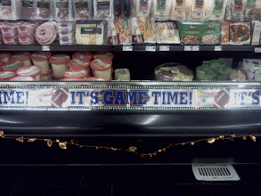 Photo: I thought it was neat that Save Mart decorated throughout the store for the Superbowl!