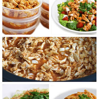 Crock-Pot Honey Sriracha Shredded Chicken