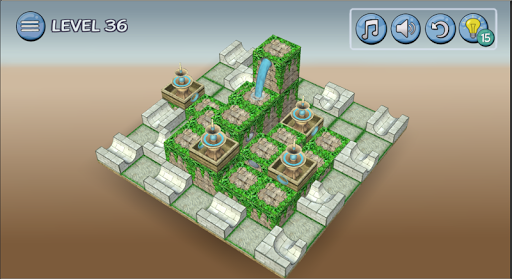 Flow Water Fountain 3D Puzzle Screenshots 20