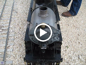 Video: Vance Nickerson's T&P 400 and steam powered bell